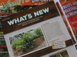 Vasili Garden Magazine, Balegrow feature