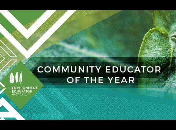 Community Educator of the Year.